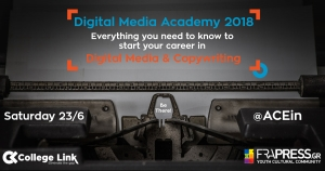 Digital Media Academy 2018 by CollegeLink
