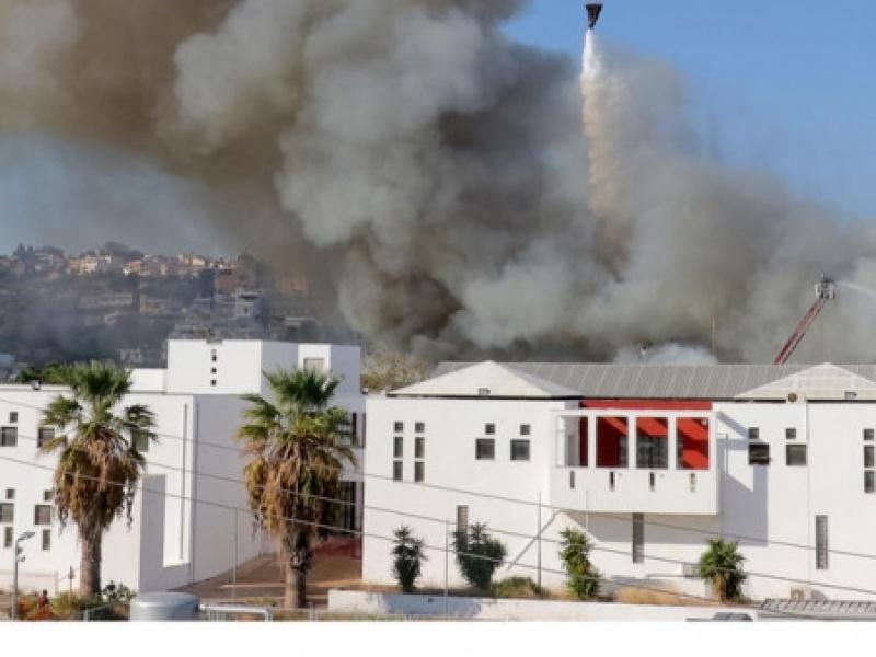 Τεράστιες καταστροφές από την φωτιά στο Πανεπιστήμιο Κρήτης
