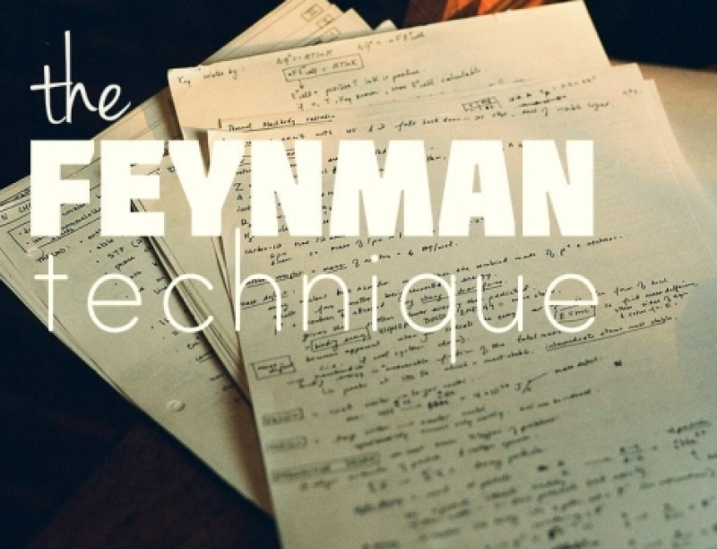 Τεχνική Feynman: μάθε τα πάντα γρήγορα και αποτελεσματικά σε τέσσερα απλά βήματα