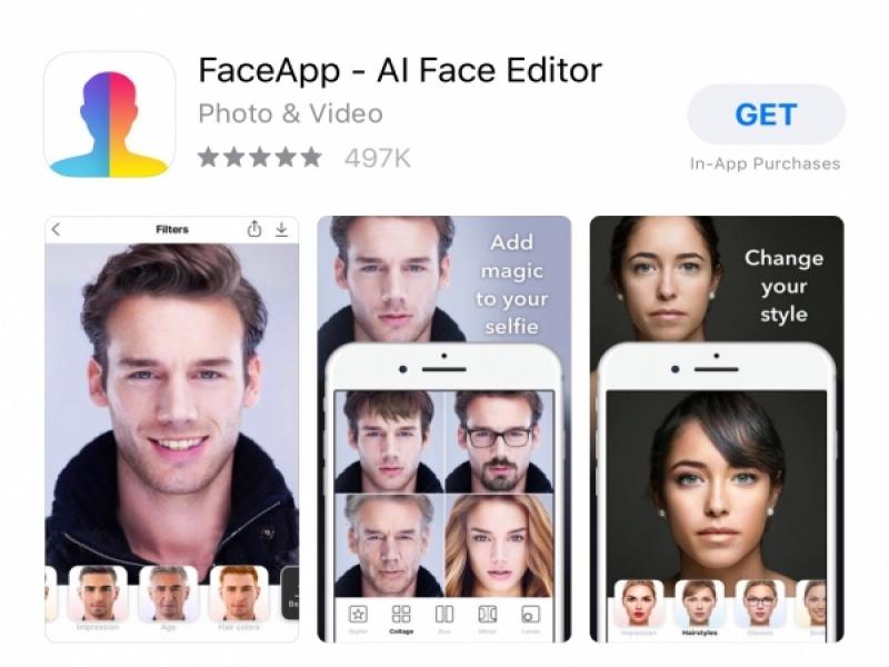 Το FaceApp απέκτησε σε χρόνο ρεκόρ δεδομένα και φωτογραφίες 100 εκατ. χρηστών - ...