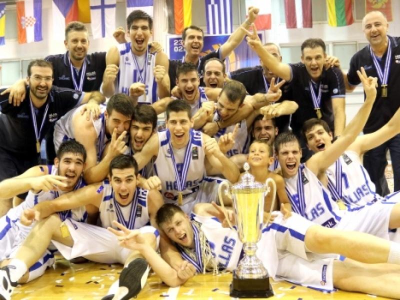 Πανευρωπαϊκό Νέων Μπάσκετ: Χρυσό μετάλλιο για την Εθνική Ελλάδος