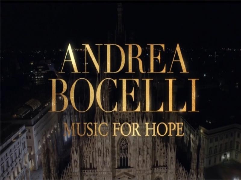 O Andrea Bocelli θα εμφανιστεί live στο Youtube από τον καθεδρικό ναό Duomo του ...