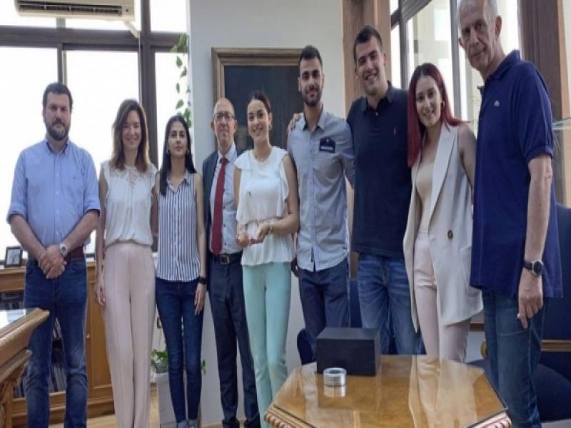 Πρωτιά φοιτητών του ΠΑΜΑΚ στον διεθνή διαγωνισμό του περίφημου George Washington...