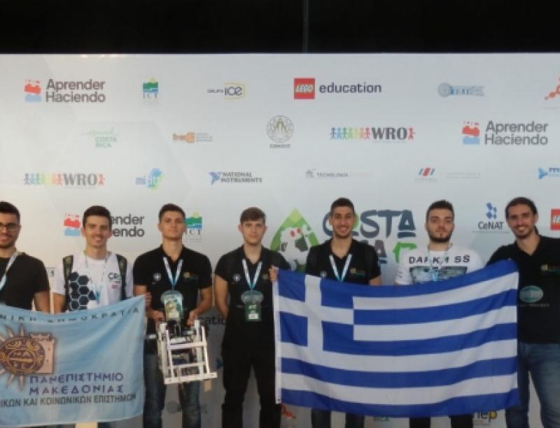 Οι φοιτητές του Πανεπιστημίου Μακεδονίας στοχεύουν στην Ολυμπιάδα Ρομποτικής του...
