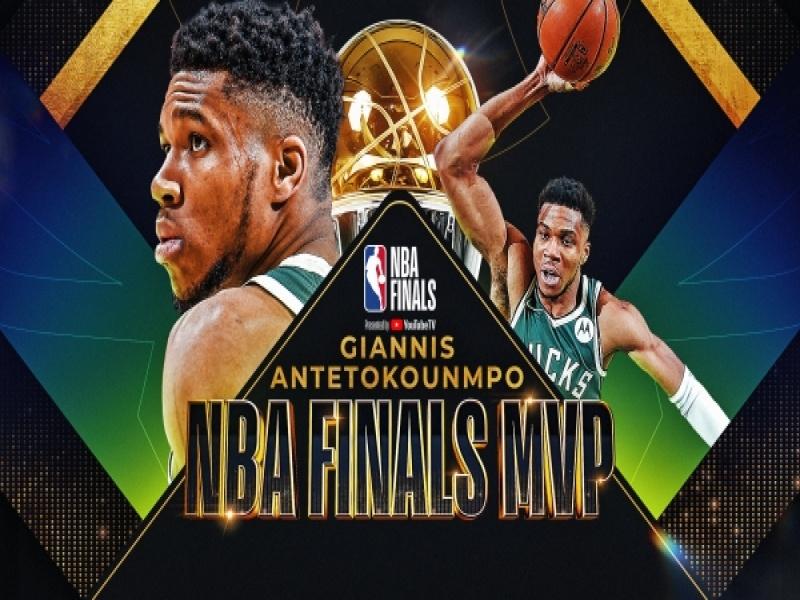 Ο Γιάννης Αντετοκούνμπο είναι ο νέος βασιλιάς του NBA: Πρωταθλητές οι Μπακς με 5...